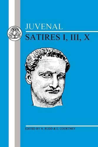 Satires: Bk. 1, 3, 10 (Paperback)