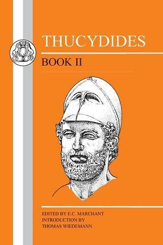 History of the Peloponnesian War: Bk. 2 - BCP Greek Texts (Paperback)