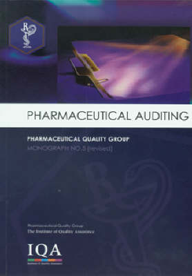 Pharmaceutical Auditing (Paperback)