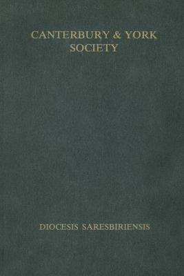 Register of Robert Hallum, Bishop of Salisbury, 1407-1417 - Canterbury & York Society v. 72 (Hardback)