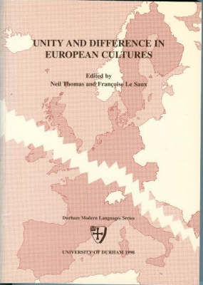 Unity and Difference in European Cultures (Paperback)