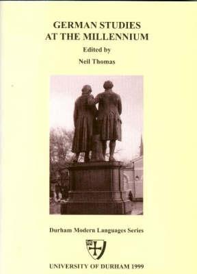 German Studies at the Millennium (Paperback)