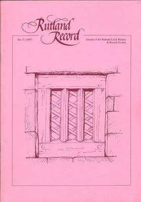 Rutland Record: No. 16, 1996 (Paperback)