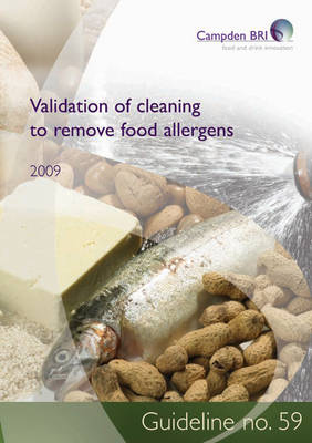 Validation of Cleaning to Remove Allergens - Guideline 59 (Paperback)