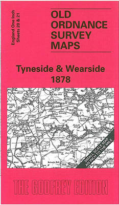 Tyneside and Wearside1878: One Inch Sheet 020 - Old Ordnance Survey Maps - Inch to the Mile (Sheet map, folded)
