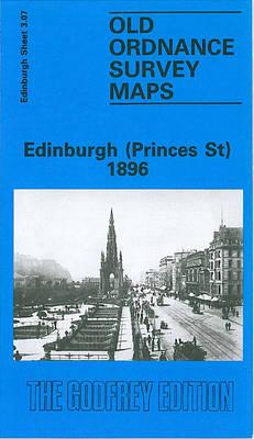 Edinburgh (Princes St.) 1896: Edinburgh Sheet 3.07 - Old O.S. Maps of Edinburgh (Sheet map, folded)