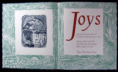 Joys: Passages from the Works of Thomas Traherne (Hardback)