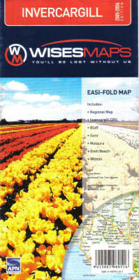 Invercargill (Sheet map, folded)