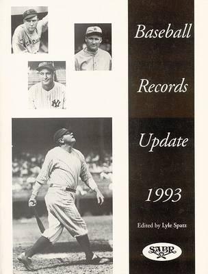 Baseball Records Update 1993 (Paperback)