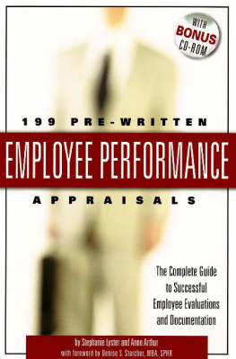 199 Pre-Written Employee Performance Appraisals: The Complete Guide to Successful Employee Evaluations & Documentation (Paperback)