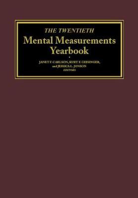 The Twentieth Mental Measurements Yearbook (Hardback)