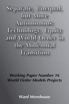 Moving Cultural Frontier of World Order: From Monotheism to North-South Relations (Paperback)