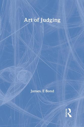 Art of Judging: Volume 8 (Hardback)