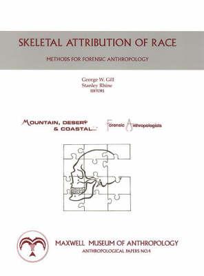 Skeletal Attribution of Race: Methods for Forensic Anthropology (Spiral bound)