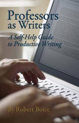 Professors as Writers (Paperback)
