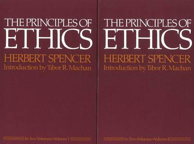 The Principles of Ethics: v. 1 & 2 (Hardback)