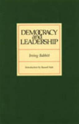 Democracy and Leadership (Paperback)
