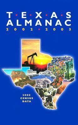 Texas Almanac: 2002/2003 (Paperback)