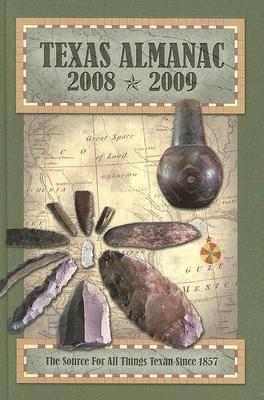 Texas Almanac 2008-2009 (Hardback)