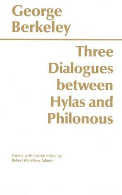 Three Dialogues Between Hylas and Philonous (Paperback)