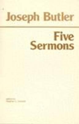 Joseph Butler: Five Sermons (Paperback)