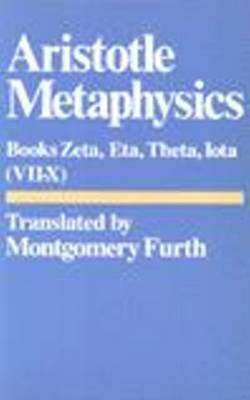 Metaphysics: Bks. 6-10. Zeta, Eta, Theta, Iota (Paperback)