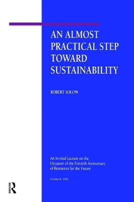 An Almost Practical Step Toward Sustainability (Paperback)