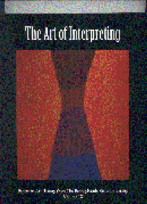 The Art of Interpreting - Papers in Art History 9 (Paperback)