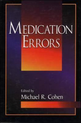 Medication Errors (Hardback)