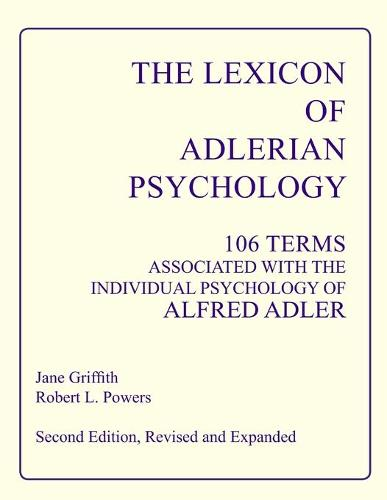 The Lexicon of Adlerian Psychology (Paperback)