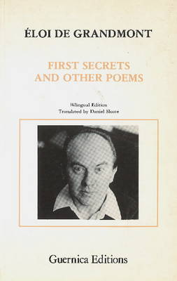 First Secrets and Other Poems (Paperback)