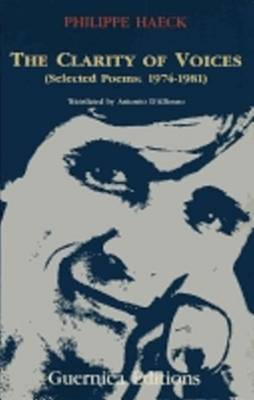 Clarity of Voices: Selected Poems, 1974-81 (Paperback)
