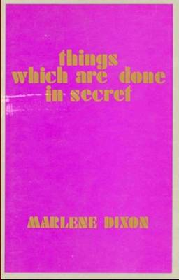 Things Which are Done in Secret (Paperback)