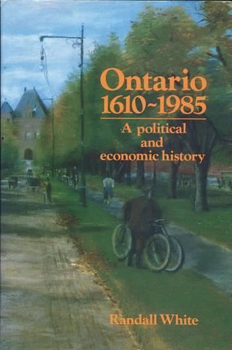 Ontario 1610-1985 (Paperback)
