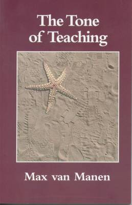 The Tone of Teaching: The Language of Pedagogy (Paperback)