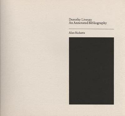 Dorothy Livesay - Canadian Author Bibliographies (Paperback)
