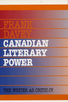 Canadian Literary Power (Paperback)