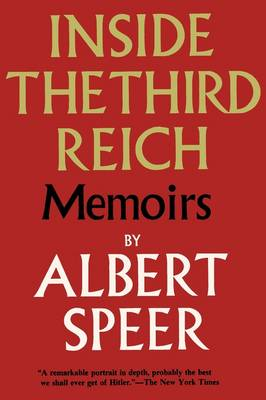 Inside the Third Reich (Paperback)