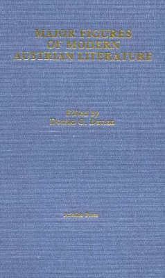 Major Figures of Modern Austrian Literature (Hardback)