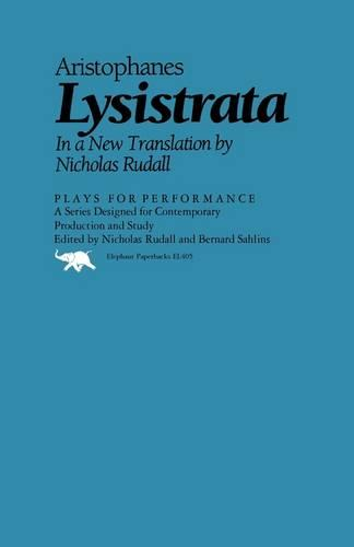 Lysistrata - Plays for Performance Series (Paperback)