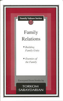Family Relations: Building Family Unity. Enemies of the Family - Family Values S. (Paperback)