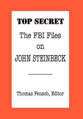 The FBI Files on John Steinbeck (Hardback)