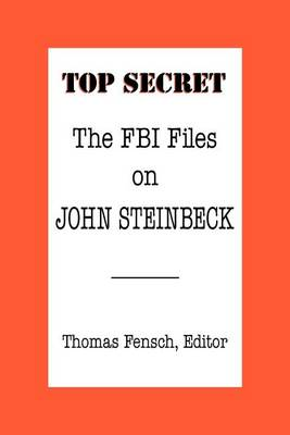 The FBI Files on John Steinbeck (Paperback)