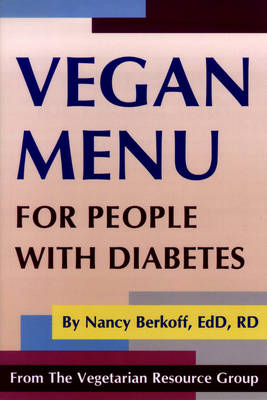 Vegan Menu For People With Diabetes (Paperback)