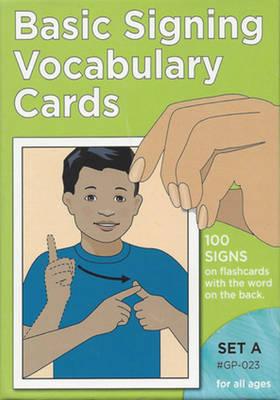 Vocabulary Cards: Set A (Green) (Paperback)