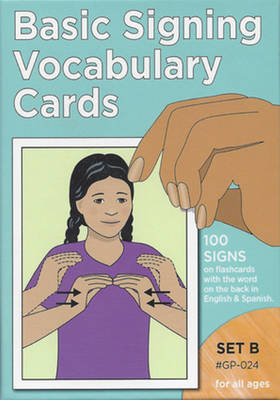 Vocabulary Cards: Set B (Blue) (Paperback)