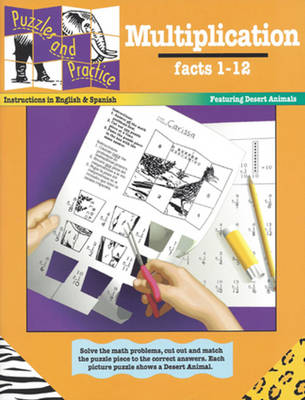 Multiplication, Facts 1-12 (Paperback)