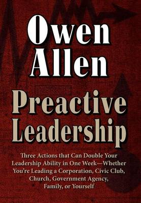 Preactive Leadership (Hardback)