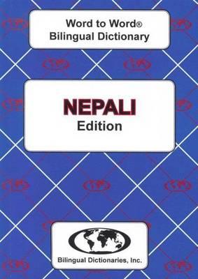 English-Nepali & Nepali-English Word-to-Word Dictionary (Paperback)