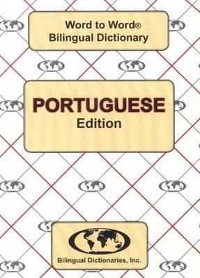 English-Portuguese & Portuguese-English Word-to-Word Dictionary (Paperback)